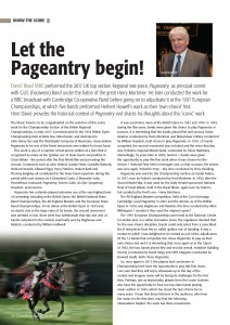 Pageantry – David Read